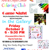Alleghany Highlands Arts and Crafts Center Coloring Club