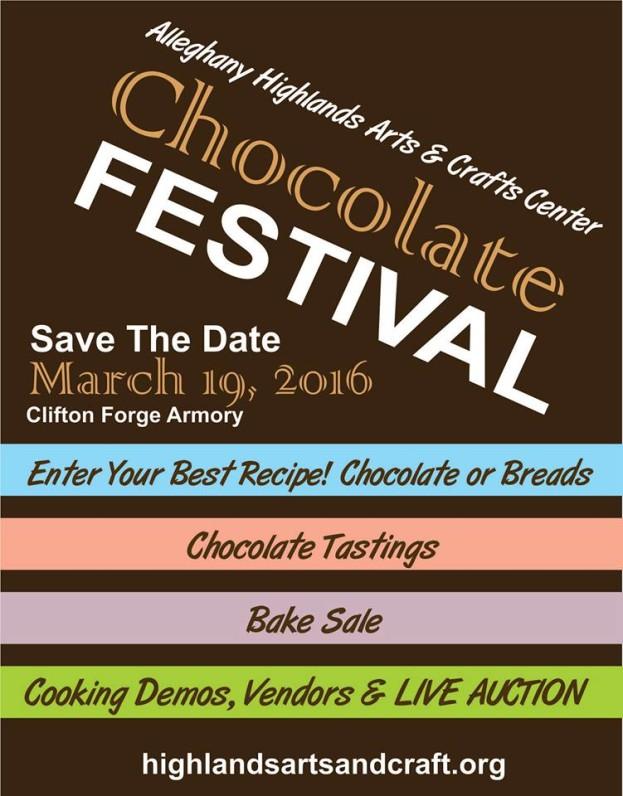 Alleghany Highlands Art Center 2016 Chocolate Festival