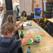 Kids Camp Painting